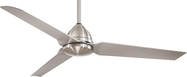 Minka-Aire Brushed Nickel Man Cave Ceiling Fan