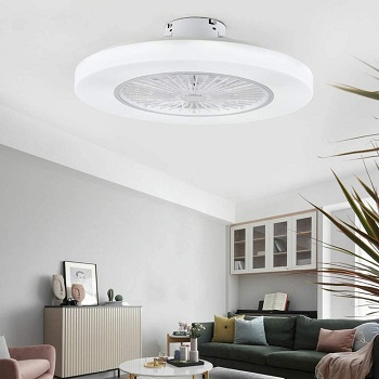 <strong>Orillon Thin Enclosed Modern Ceiling Fan For Bedroom</strong>