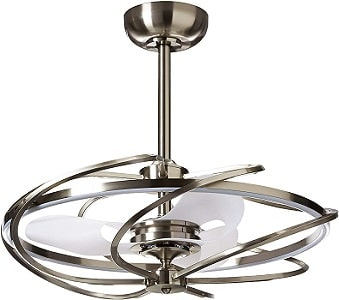 Contemporary Style Fancy Ceiling Fans with LED Lights