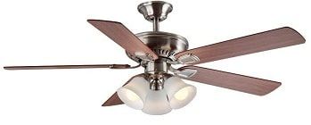 Hampton Bay Campbell 52 inch Ceiling Fan with Light Kit