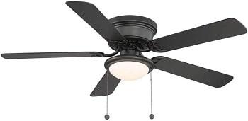 Hampton Bay Hugger 52 Inch LED Light Ceiling Fan
