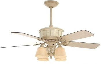 Hampton Bay Torrington Ceiling Fan with Light and Remote Control