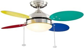 NOMA Reversible Multi-Color Ceiling Fan