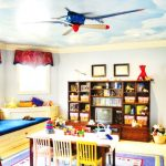 Nursery ceiling fan with light