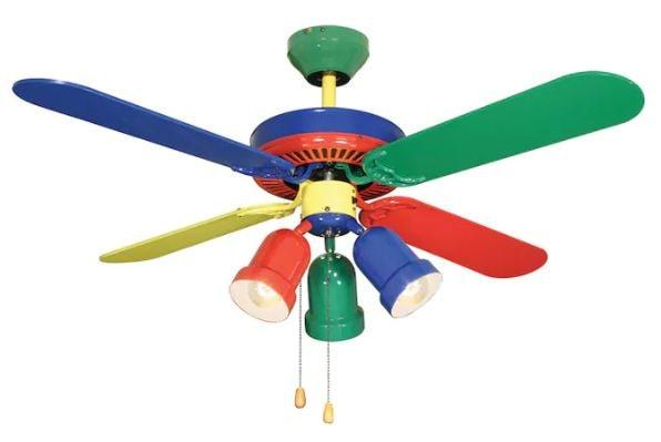 ceiling fan color