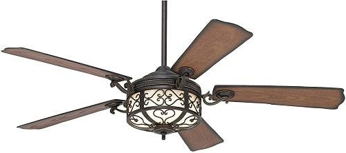 Casa Vieja Hermitage Rustic Vintage Outdoor Ceiling Fan