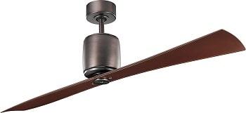 Kichler Ferron Oil Brushed Bronze Ceiling Fan Without Light