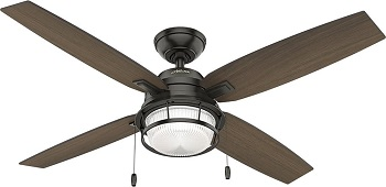 Hunter Ocala Indoor Outdoor Ceiling Fan with LED Light