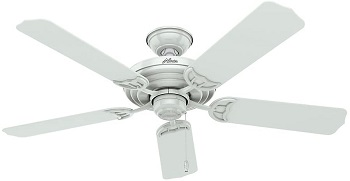 Hunter Sea Air Indoor Outdoor Ceiling Fan with Pull Chain Control