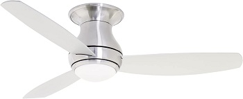 Emerson Curva Sky Modern Ceiling Fan With Light And Remote
