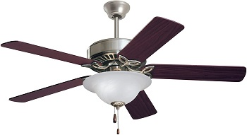 Emerson Vintage Pro Series Ceiling Fan with LED Light