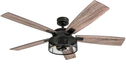 Honeywell Modern Carnegie Farmhouse Ceiling Fan With Light