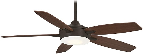 <strong>Minka-Aire Espace 52 Inch Ceiling Fan with Dimmable LED Light</strong>